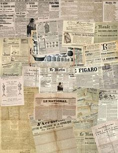 diarios antiguos sepia beige Journal Du Jour, Newspaper Background, Newspaper Wallpaper, Newspaper Collage, Vintage Newspaper, Newspaper Design, Collage Sheet, Vintage Paper, Collage Art