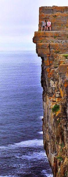 Daredevil Cliffs, Aran Islands, Ireland.