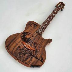 "Guitarras Made In BraSil on Instagram: ""Caimbé Instrumentos Musicais @caimbe_instrumentos #guitar #guitarras #guitarra #acousticguitars #customguitar #customshop #guitarist…"" Music Instruments, Instagram, Brazil, Guitars, Musical Instruments"