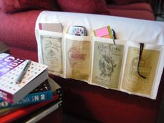 Easy Organizer Project: Cabinet Cards and Napkins | Just Something I Made