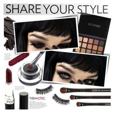 """""""Newchic style - Beauty"""" by mymilla ❤ liked on Polyvore featuring beauty and Bobbi Brown Cosmetics"""