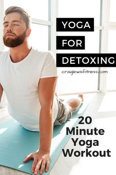 Can you use yoga to detox the body? This post will show you the best way to use … Can you use yoga to detox the body? This post will show you the best way to use yoga for detoxing and has a 20 minute yoga workout for you to use at home# yogaathome Yin Yoga, Kundalini Yoga, Tantric Yoga, Bikram Yoga, Quick Weight Loss Tips, Yoga For Weight Loss, Detox Yoga, Yoga Training, Meditation
