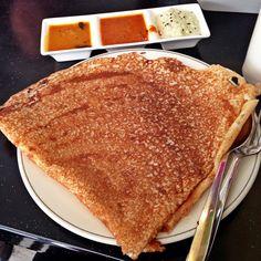 Thosai crepe Vietnamese Recipes, Filipino Recipes, Indian Food Recipes, Asian Recipes, Ethnic Recipes, Cantonese Food, Asian Soup, Singapore Food, Steamed Buns