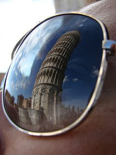 Pisa tower in Ray-ban