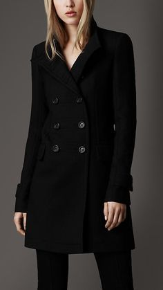 I need a black coat because I never wear my red one