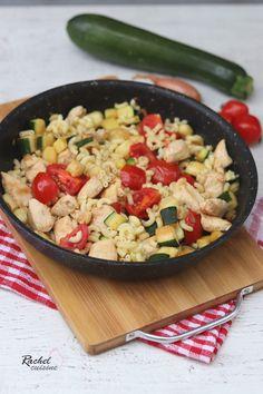 31 recettes d'août – health kitchen One Pot, Summer Desserts, Parfait, Pasta Salad, Meal Prep, Grains, Rice, Healthy, Ethnic Recipes