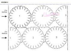 Схема соединения полос