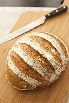 Artisan Bread in 5 minutes a day - How to make a 2-pound loaf. How can you resist homemade bread straight out of the oven!