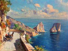 Road around Capri (88 pieces)