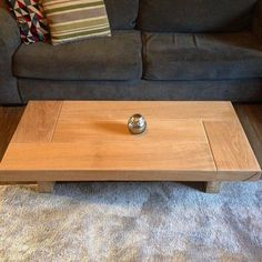 Oak coffee table sleeper coffee table coffee table wood