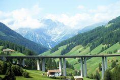 Brenner Pass, Austria - best view from a bridge ever!