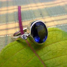 Stunning! Iolite Diamonds 1110773 (Devine Fine Jewelers)