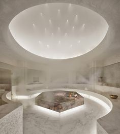 Hamman at Tierra Santa at Faena Hotel Miami Beach Spa Luxe, Luxury Spa, Spa Design, Salon Design, House Design, Hotel Et Spa, Spa Treatment Room, Sound Bath, Spa Breaks