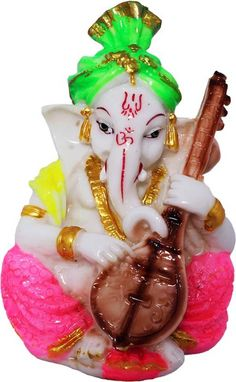 Art N Hub God Ganesh / Ganpati / Lord Ganesha Idol - Statue Gift item Showpiece - 12 cm Ganesh Wallpaper, City Wallpaper, Sri Ganesh, Lord Ganesha, Ganesh Chaturthi Images, Pooja Mandir, Feeling Used, Pencil Sketch Drawing, Ganesh Images
