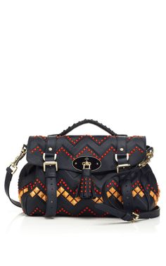 "Mulberry ""The Zigzag"" bag. Fall 2012."