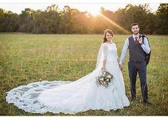 Her wedding dress designer tells all.