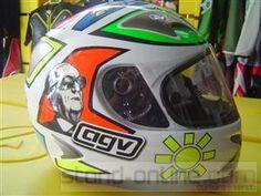 Capacete AGV Ti-Tech (Valentino Rossi Limited Edition)