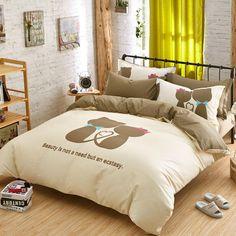 cat love bedding set queen size  EBeddingSets