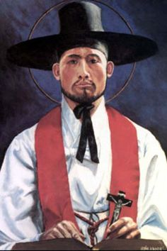 Sts. Andrew Kim Taegon, Paul Chong Hasang, and Companions Roman Catholic Priest and Korean Martyrs. Feastday Sept. 20
