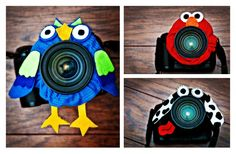 DIY Lens Pet, these would be good for getting babies/children's attention.