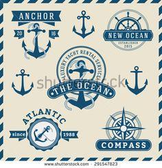 Nautical logo design