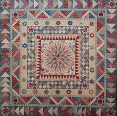 Wish there was information on this medallion quilt.
