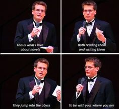 JOHN GREEN IS PURE AWESOME