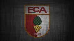 FC Augsburg Logo HD Wallpaper
