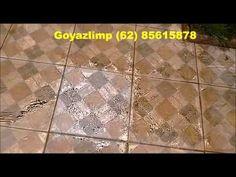 Como limpar pisos ceramicos encardidos ou manchados - amostras de remove...