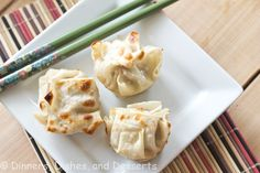 Asian Dumplings with Dipping Sauce   Dinners, Dishes, and Desserts - Part 1