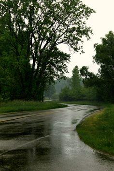 Roads and Rain - Walking Geema