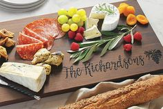 Hand-made from premium ash wood, this wide plank creates a beautiful charcuterie board when entertaining. This 36-inch board is fired in a kiln until it reaches this rich chocolate-brown finish.