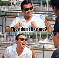 don´t care...  #dicaprio #WolfofWallStreet #film