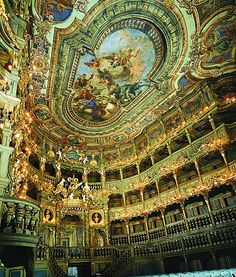Opera House in Bayreuth - Germany - new UNESCO world heritage site