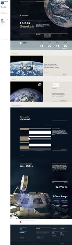 http://genelab.nasa.gov #webdesign
