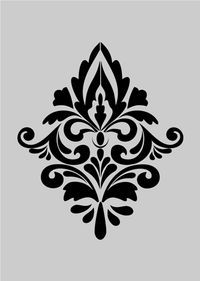damask stencil - Bing Images