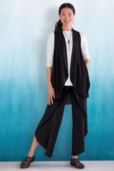 Sympli Womens Clover Modal Cardi-Navy-Size 14