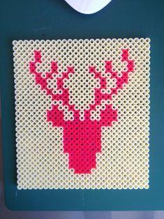 Deer, hama beads