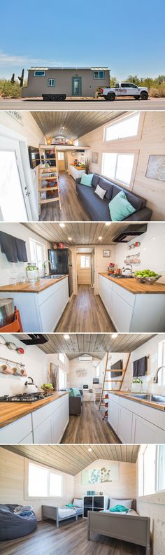 Bunkhouse by Uncharted Tiny Homes &; Tiny Living Bunkhouse by Uncharted Tiny Homes &; Tiny Living Alexa Arpoika lexaluey Tiny house living With its master loft and separate […] Homes For Families with kids Tiny House Layout, Tiny House Design, House Layouts, Lofts, Tiny House Plans, Tiny House On Wheels, Tiny House Nation, Small Room Design, Solar Panels For Home