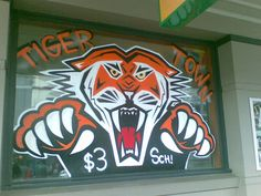 Roar! You're in Tiger Town now...be very afraid...