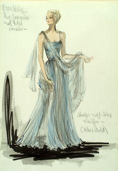 Edith Head for Grace Kelly