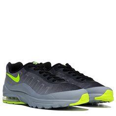 tênis nike air max invigor casual masculino cinza verde