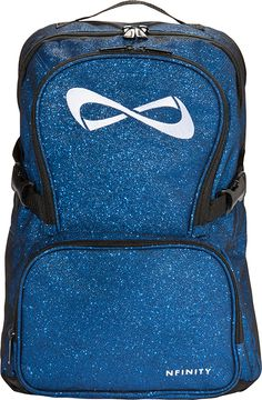 Nfinity Blue Sparkle Backpack
