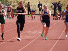 Saturday, April 25, 2015: The Lithia Invitational track meet in Klamath Falls brought 37 high school teams to the OIT campus, including Lakeview, Paisley and North Lake. Many records fell on the day, Lake County athletes bringing their best, highlighted by North Lake's Kendra Murphy who won the high jump and 200-meters competitions. For more read the April 29, 2015 Lake County Examiner.