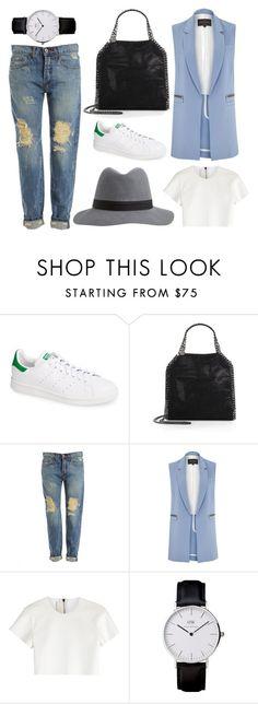 """Boyish Style"" by safa21 on Polyvore featuring mode, adidas, STELLA McCARTNEY, Bardot, River Island, Neil Barrett, women's clothing, women's fashion, women et female"