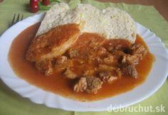 Fotorecept: Bravčové mäso na maďarský spôsob