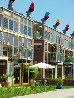 BedZED, how modern housing should be.  Mixed-use sustainability development of 85 homes.