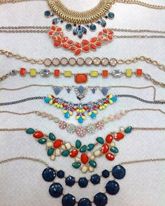 #CM #style #cmstyle #clothes #mentor #clothesmentor #clothesmentorsarasotasouth #sarasota #siestakey #necklaces  Prices ranging from $6.00- $8.00