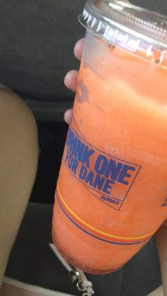 marmalade extra orange drizz Dutch Bros Drinks, Bomb Drinks, Starbucks Drinks, Marmalade, Orange, Food, Essen, Meals, Yemek
