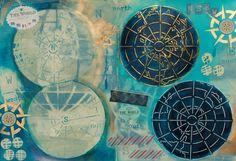 Mary C. Nasser Map Art